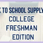 What You Don't Need on Your College School Supplies List